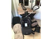 SILVER CROSS Wayfarer 3 in 1 Travel System
