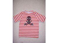 Pirate T Shirt Age 3-4 yrs George