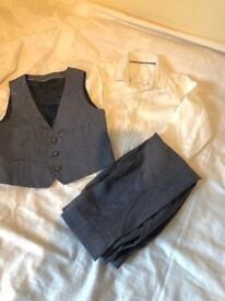 Boys Three Piece Smart Suit age 3-4 years old from M& S. Original Price £60. Only worn once.
