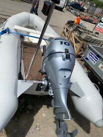 Boat 3.5m hard bottom rib
