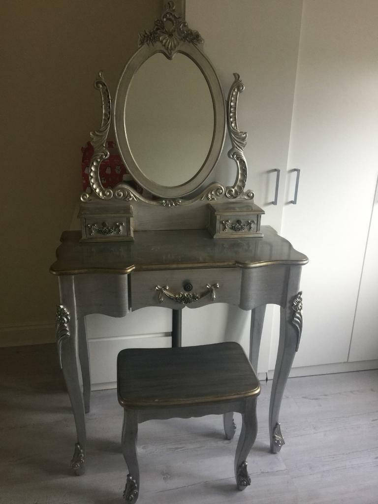 TOULOUSE SILVER VINTAGE DRESSING TABLE SET | in Wisbech ...