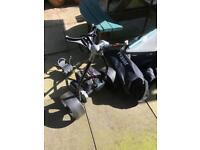 Fraser power golf caddy foldaway