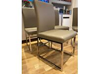 Dwell used 4 dining chairs both London