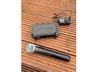 Shure Beta 58 Wireless Microphone and Receiver