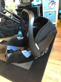 RECARO Citylife travel system in blue (rare)