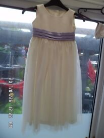 Bridesmaid/flower girl/christening/special occasion dress age 6