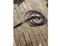 Karcher lance , hose and extension hose.