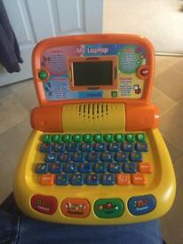 Child's learning computer.