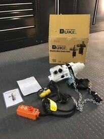 New DUKE ELECTRIC CHAIN HOIST