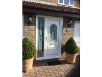 UPVC Combination frame and door