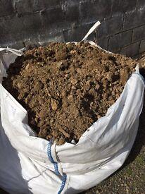 Free top soil ton bags