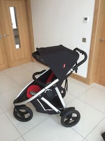 Phil & Teds Vibe 2 buggy. Excellent condition. Lots of extras. Used as a single buggy