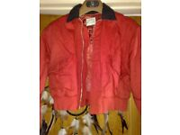 BEAUTIFUL RED JACKET FOR A BOY OR A GIRL - FRENCH CONNECTION -