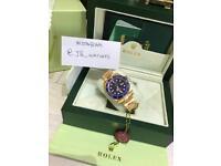 Gold & Blue Rolex Submariner