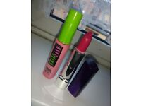 New Maybelline Mascara and Rimmel Lipstick Bundle