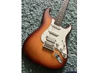 Fender Stratocaster FSR - Flame top HSS with IOS and headphone out. Very rare guitar