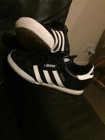 Adidas sambas (black and white)