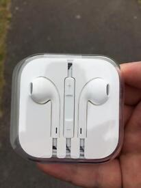Brand new unused headphones that came with iPhone 5S
