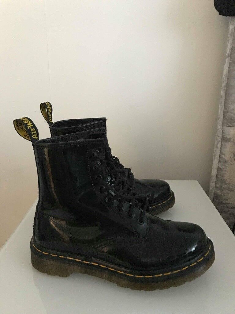 BLACK PATENT DOC MARTENS (SIZE 5) | in Southampton, Hampshire | Gumtree