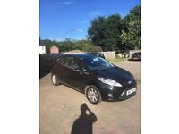 Black Ford Fiesta 2009 for sale