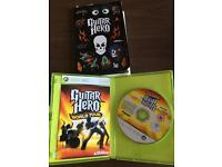 Guitar hero Xbox 360... game only