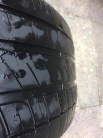 Various tyres £8 each ford fiesta, vauxhall corsa, escort