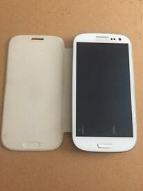 16gb White and blue Samsung galaxy s3