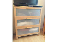 Ikea Chest of 3 Drawers oak effect, Quick Sale!!!!