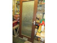 FRONT DOOR WOODERN/GLASS