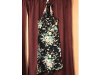 Warehouse halterneck dress size 10