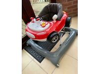 Mothercare car baby walker for sale