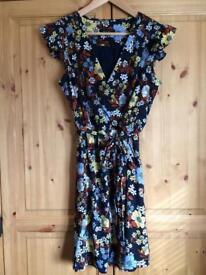 Flowery dress, size 12