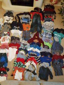 Huge bundle of baby boys / toddler clothes