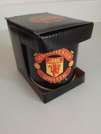 Boxed Manchester United Mug