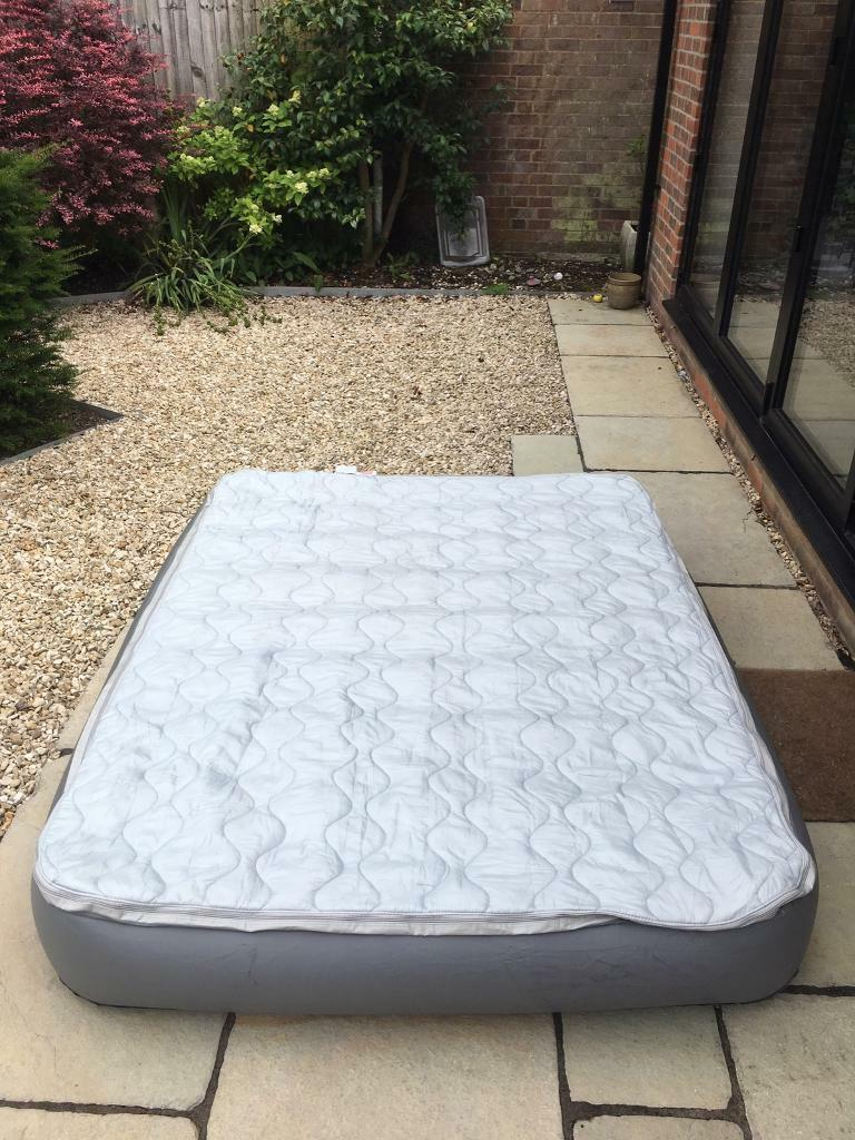 Coleman inflatable double camping mattress with Pump | in Newbury,  Berkshire | Gumtree
