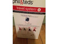 Phil and ted car seat adaptor