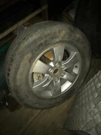 L200 alloy wheels x2