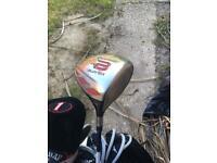 Dunlop golf set with carry bag