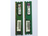 Used Desktop Memory, DDR2, 800MHz