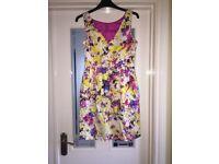 Multicoloured Coast Dress - size 10