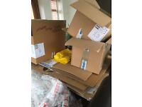 Free boxes ( ideal for moving house)