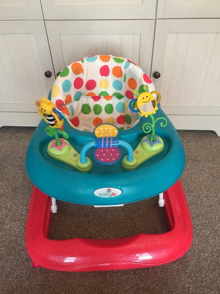 Nearly new Babylo busy bee walker. Used once at grandparents. Was £40 looking for £15ono