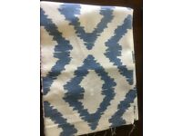 2 John Lewis Roman Blinds brand new never opened in beautiful blue and neutral colours