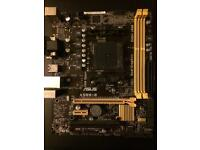 Motherboard fm2+ budget gaming