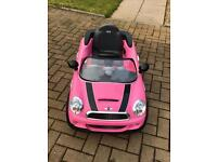 Kids Battery Powered Mini Coupe - Pink