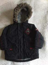 Boys 9-12 month winter coat