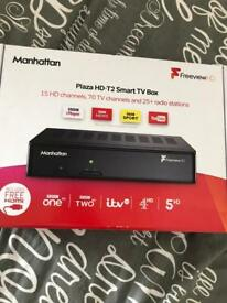 Smart tv freeview box