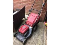 Mountfield petrol lawn mower