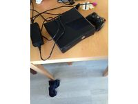 Xbox 360 250gb with controller