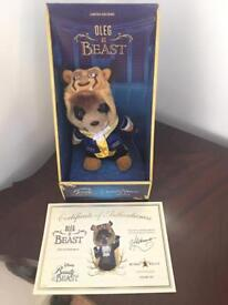 Oleg as Beast Beauty and the Beast Meerkat toy collectible